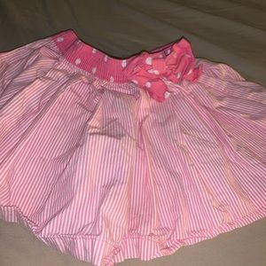 Pink Osh-kosh skirt with shorts attached 4t